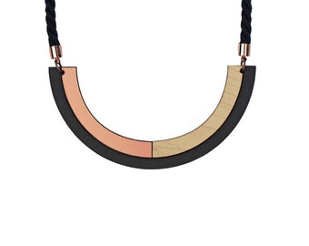 SHADE NECKLACE / ROSE