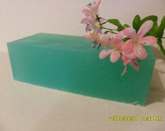 Spearmint Soap Loaf  Sulfate Free Base  All Natural    Upick sliced or block