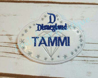 Disneyland name tag