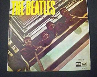 1960s Vintage Beatles - The Beatles - Vinyl Record Album from Spain- Odeon - Barcelona