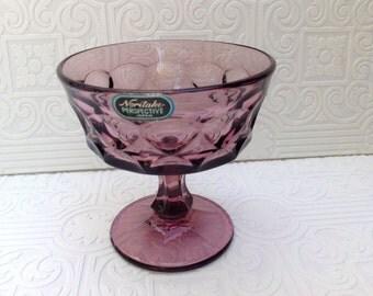 Noritake Perspective Purple Sherbet Dish