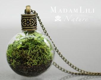 TERRARIUM True Moss Necklace