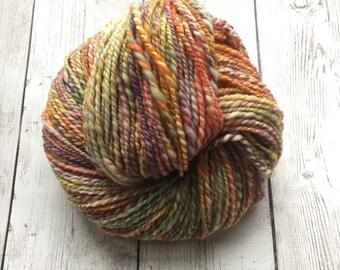 Hand Spun Yarn - WORSTED - Superwash Merino Fun-Fetti™ -  192 yds   4.1 oz (HS0203)