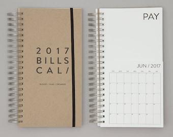 2017 Dated Bills Calendar