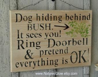 Funny DOG Sign, Dog Warning Sign, Dog Owner Gift, Dog Decor, Funny Dog Sign, Pet Sign, Beware of Dog Signs, Funny Pet Sign, Dog Sign Decor