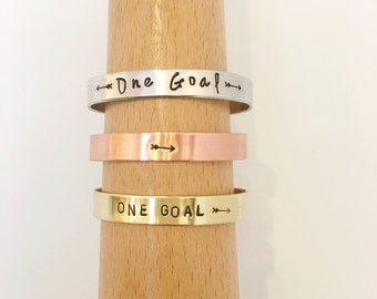 ONE GOAL >> Pelotonia Cuff >> Pelotonia Bracelet >> End Cancer