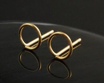Hugs Earrings in Stainless Steel, Niobium, Sterling Silver, 14kt Gold Filled