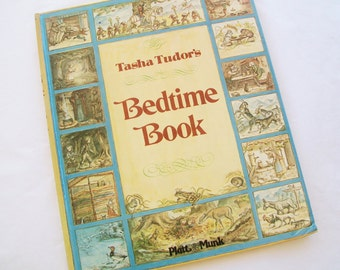 SALE - Tasha Tudor's Bedtime Book, 1977, hardbound, children, collectable