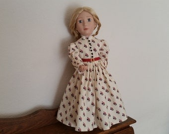 1890's Style Day Dress for 16 inch Doll
