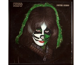 Glittered Kiss Peter Criss Record Album Art
