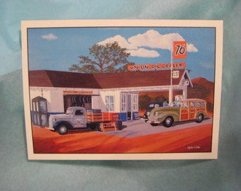Lithographs of Auto Classics of 1920's, 30's, 40's & 50's by Stan Cline