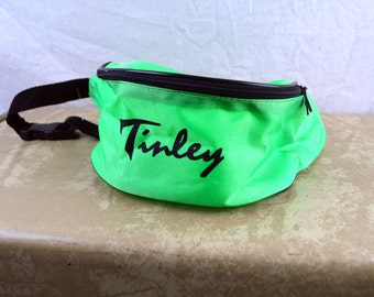 Vintage 90s Fanny Pack - Neon Green