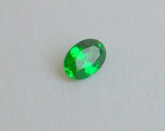 Neon Green Kenyan Tsavorite 7x5mm