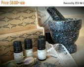 Kitchen Witch. Natural Herbal Aromatherapy Blend of 12 top healing oils