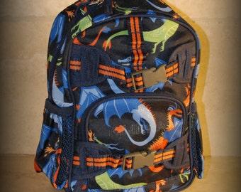 Dragon Pottery Barn Mini Preschooler Backpack - Monogram included