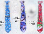 TinCan Christmas Metal Neckties