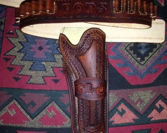 Custom Made to Order Holster and Gunbelt
