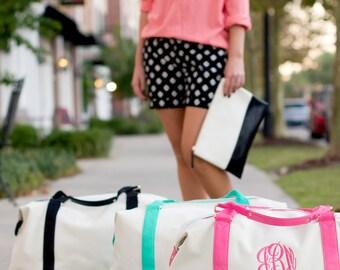 Overnight Bag Monogrammed Weekend Tote Luggage Sullivan