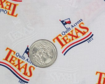 Texas Quilt Fabric-Quilt Across Texas-Red, White, Blue-Quilts, Tote Bags, Home Decor, Aprons-5.95/yd