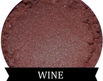 WINE Burgundy eyeshadow