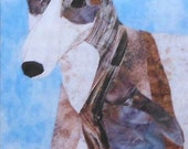 Greyhound Mini Quilt Sewing Pattern Malec Designs 16 x 22