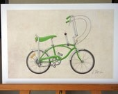 Schwinn Stingray Bicycle (11x17)