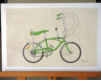Schwinn Stingray Bicycle (13x19)