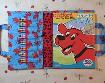 CLIFFORD The Big Red Dog Take Everywhere Coloring Book