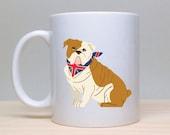 Bulldog Mug, Funny Mug, Dog Coffee Mug, English Bulldog Mug, Cute Mug, 2 sided mug