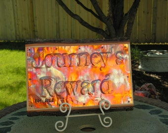 Vacation home sign, Copper Sign, Custom Sign, Anniversary gift, Family sign, Custom phrase sign, office sign, Name sign, housewarming