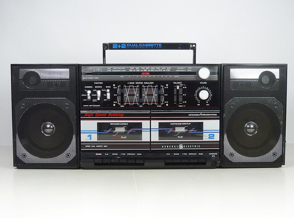 Inflatable 80s Boombox  |80s Boombox