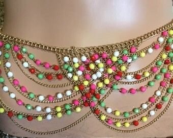 SALE NOW from 19.95 to 14.95   Belly Beads or Necklace Rave On