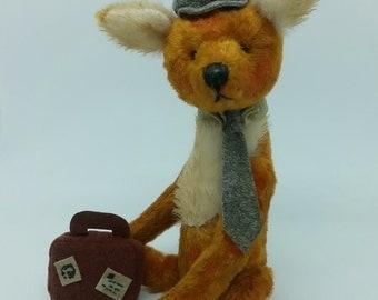 "Miniature Fox Artist Bear 4"" from Bella Boo & me"