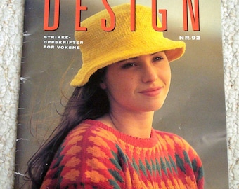 Dale Design No 92, Softcover Pattern Book by Dale Garn, in Norwegian