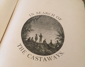 In search of the catsaways Jules Verne first edition 1873