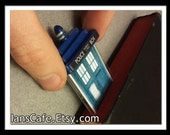 TARDIS Sculptural Bookmark - Dr. Who Inspired