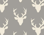 Hello Bear by Art Gallery Fabrics- Buck Forest Mist (HBR-4434) 1/2 Yard