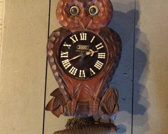 Owl Cuckoo Clock
