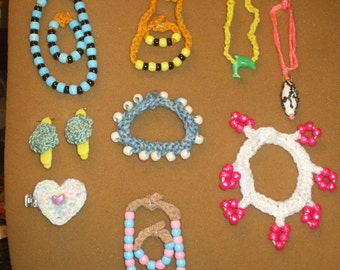 jewelry collection for 18 inch doll - 2 - shop closing on the 31st