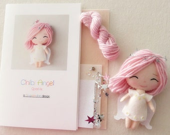 Sparkle - Chibi Angel Pattern Kit