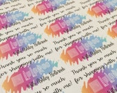 LuLaRoe Consultant Packaging Stickers with name | Direct Sales Planner Stickers | Order Supplies | Pop Up Boutique | Online boutique