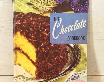 The Chocolate Cookbook - Culinary Arts Institute - Vintage Cookbook, Retro Cookbook, Old Cookbook