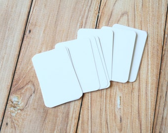 50pc Smooth WHITE Eco Series Business Card Blanks
