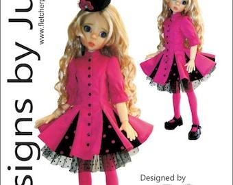 Flirty Pattern for 46cm MSD Kaye Wiggs Dolls