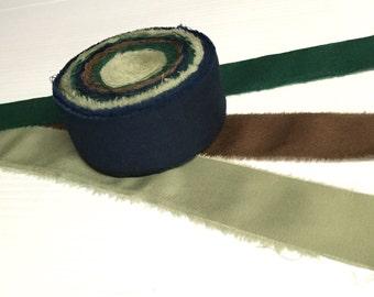 Rag Rug Fabric Strips Solid Colors Fabric Yarn