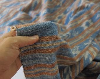 Summer Sale 15% Off - Indigo Ikat Wrap Scarf No.12