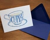 Cuppa Tea   card  ST095