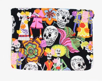 Festive Day of the Dead Ipad / Tablet Sleeve