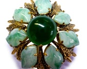 Vintage Christian Dior Dome Brooch - Made in Germany for Christian Dior dated 1963 Designer Pin