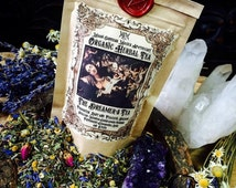 The Dreamer's Tea ~ Organic Herbal Tea...Makes 13-16 cups of Dreamy Tea... Natural Sleep Aid ~ Dream Tea ~ Moon Goddess Magick